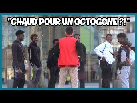 Proposer un octogone à des inconnus - Défi Prank - Les Inachevés