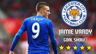 Jamie Vardy ★ Record Breaker ★ Best Skills and Goals • 2015/16 • HD