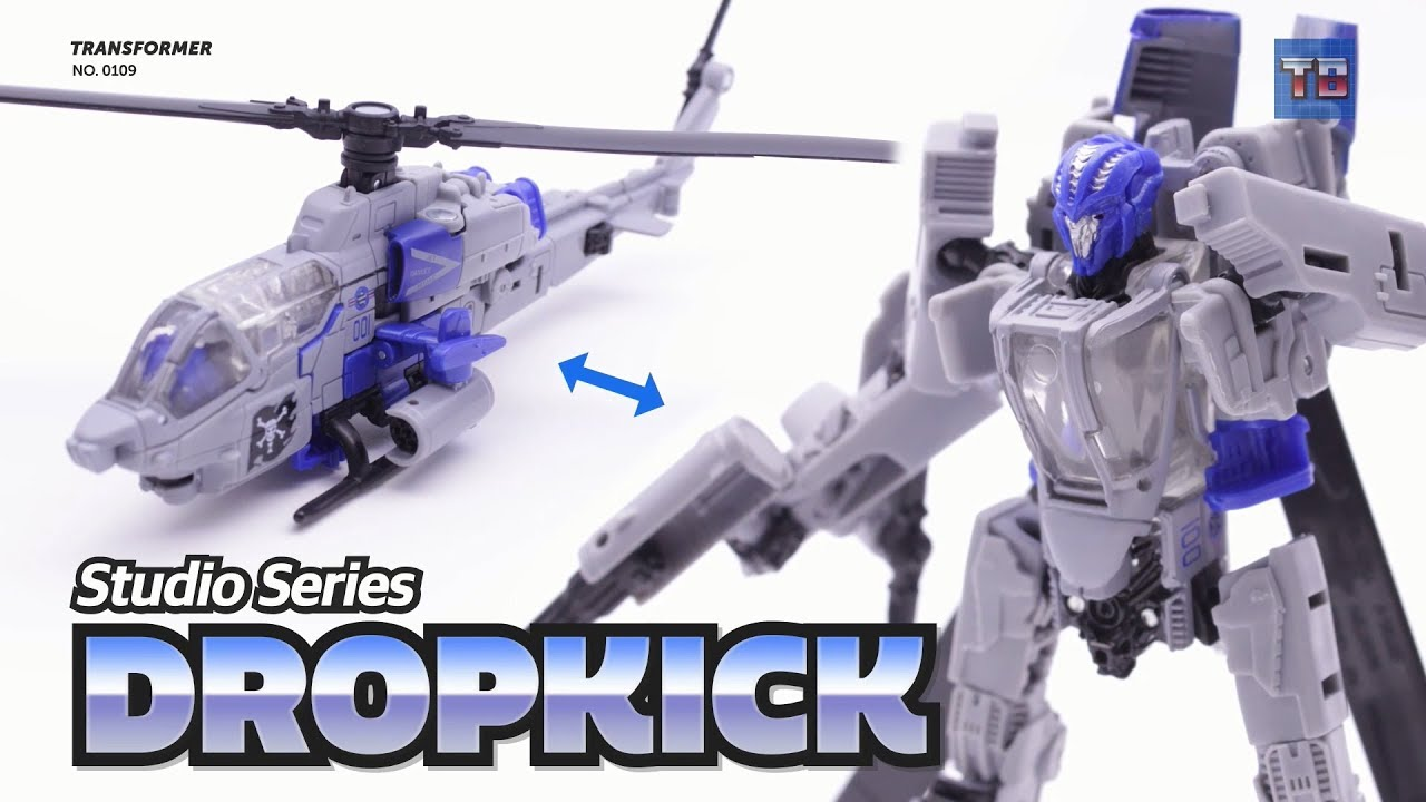 TRANSFORMERS ~ Dropkick ~ Helicopter ~ Studio Series ~ Decepticon ~ Hasbro