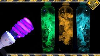 Glow in the Dark Fluid Dynamics