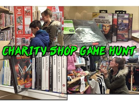 Charity Shop Video Game Hunt - Success or a fail? (TheGebs24)