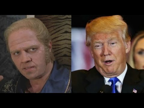 Tom Wilson responds to Donald Trump meme BIFF TANNEN