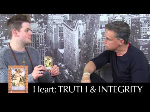 Kyle Gray gives Author Robert Holden an Angel Reading; Angel Prayers by Kyle Gray