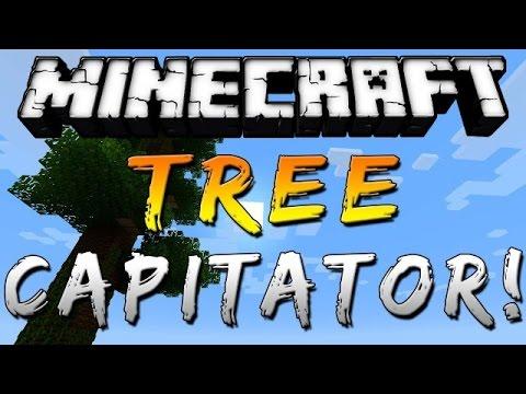 Мод на treecapitator для майнкрафт 1.7.10