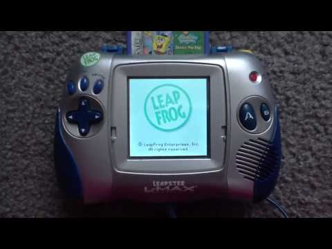 Leapster L-Max & 4 Games (with Turning Off)