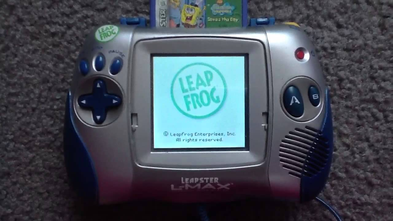 Kindercomputer 3 x Leapster Spiele