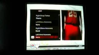NCAA basketball 09 create a player and features