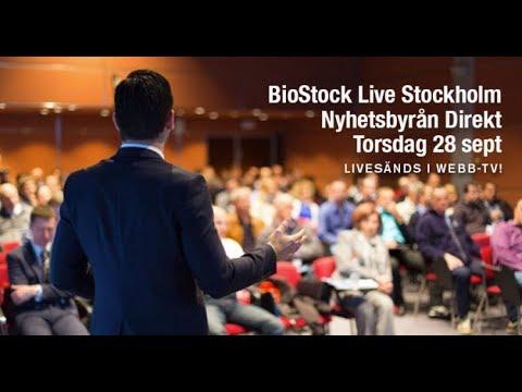 BioStock Live 28 September 2017