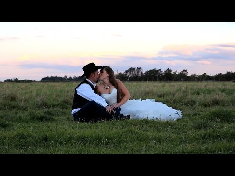 Chad and Lauren Perry Wedding Trailer