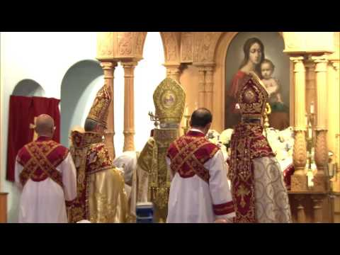 Pontifical Divine Liturgy of His Holiness Aram I in Boston, MA
