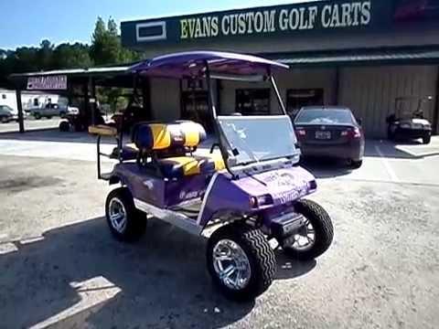 Minnesota Vikings Custom Golf Cart Evans Custom Carts