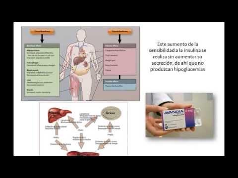Tratamiento de la diabetes, principales farmacos orales