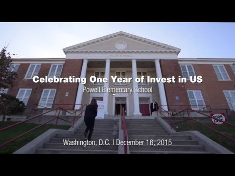 Invest in US Anniversary Event in Washington D.C. Recap Video