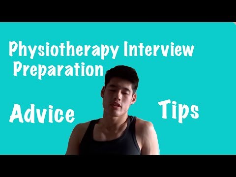 Physiotherapy Course Interview Preparation