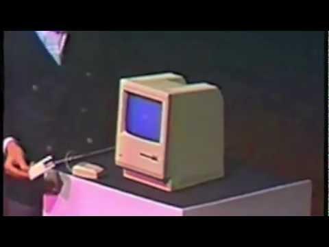 Steve Jobs presenta la primer Macintosh. Enero 1984. Subtiitulos en Español.