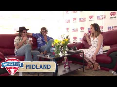 Midland Interview at WMZQ Fest