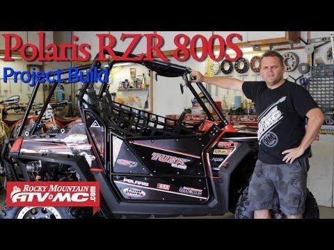 Polaris RZR 800 S Project Build