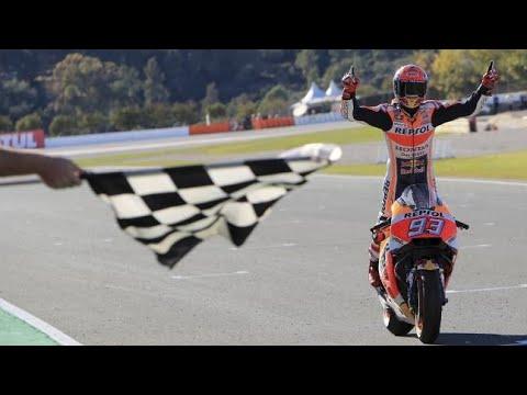 Highlights Gara/Race MotoGp Valencia 2017, Marquez World Champion - YouTube