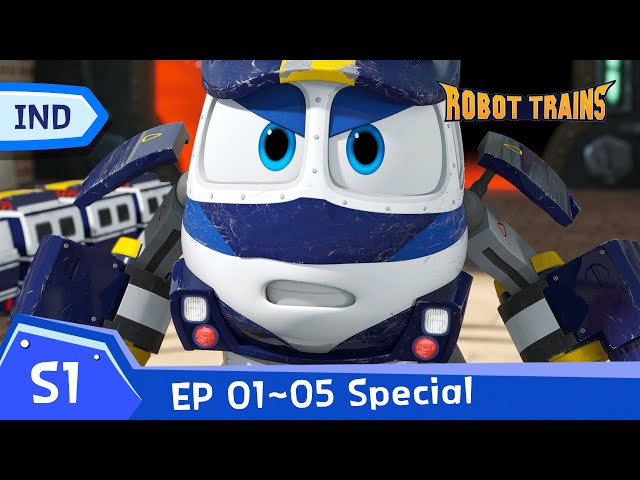 Robot Trains   EP01~EP05 (60 mins)   SPECIAL FULL EDISODE COMPLIATION   Bahasa Indonesia