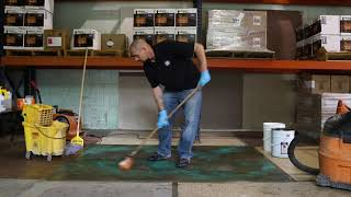 How to Acid Stain Concrete - Step by Step