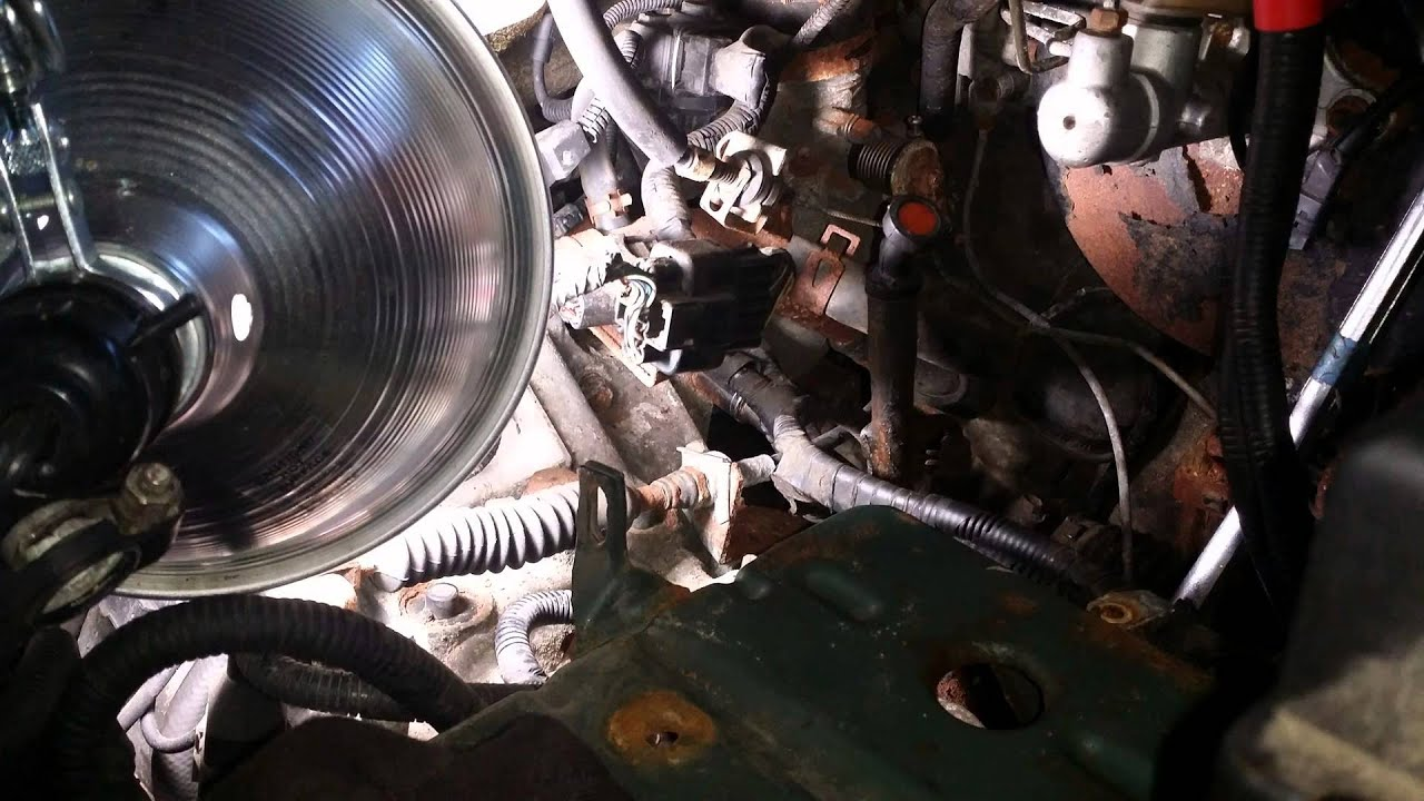 2003 Kia Optima Engine Diagram 4 Cyl 2002 Rio Starter Change Youtube