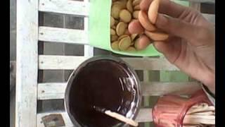 Tutorial membuat stick chocolate biscuit XI IPS 2
