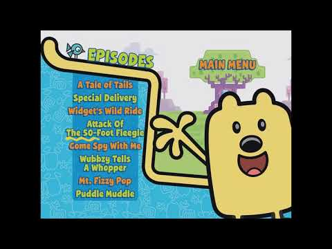 Wow Wow Wubbzy Dvd Menu Walkthrough Youtube