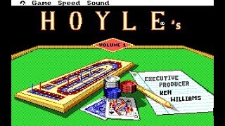 Hoyle's Book of Games Vol.1 (PC/DOS) 1989, Sierra On-Line