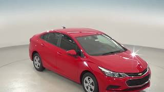 182154 - New, 2018, Chevrolet Cruze, LS, Red, Test Drive, Review, For Sale -