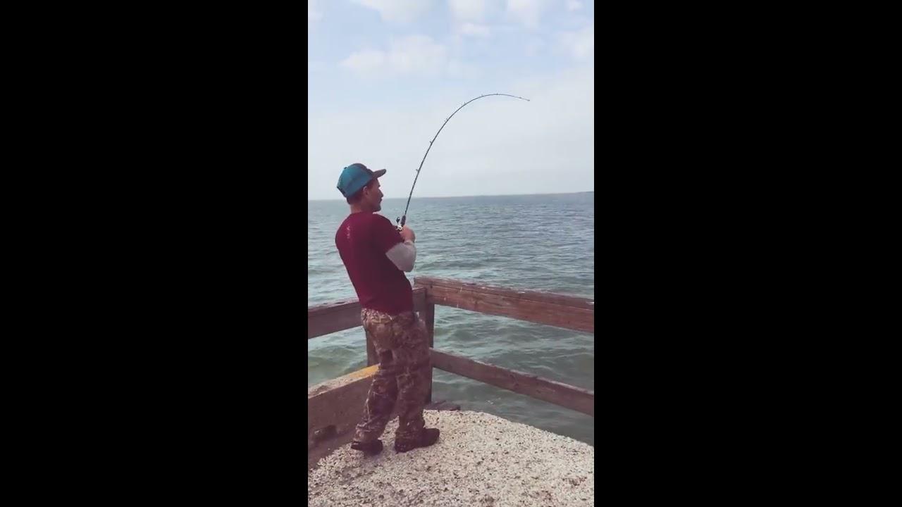 Copano bay pier fishing youtube for Copano bay fishing
