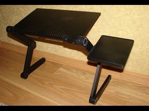 Распаковка и обзор многофункционального столика для ноутбука