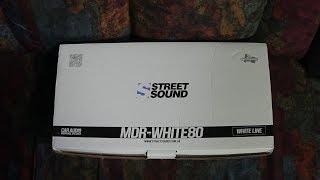 Обзор STREET SOUND ( MDR-WHITE80 , MDB-BLACK80 )