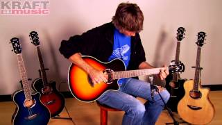 Kraft Music - Yamaha APX500III Acoustic Electric Guitar Demo with Jake Blake