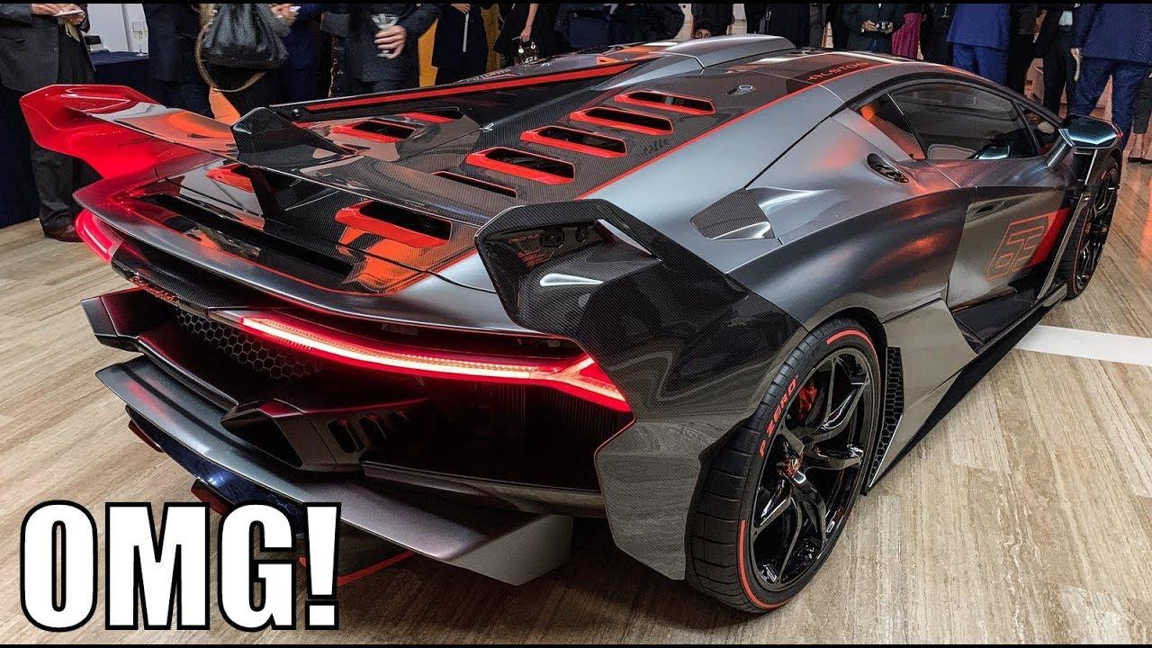Surprise New 5million Lamborghini Sc18 Revealed Youtube