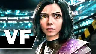 ALITA BATTLE ANGEL Bande Annonce VF Finale (NOUVELLE, 2019) Science Fiction