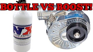 Why I chose nitrous over a supercharger!