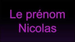 La numérologie du prénom Nicolas par numérologue conseils