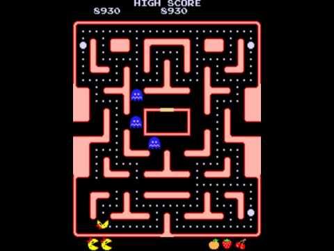 Ms. Pac-Man (1982) - Gameplay
