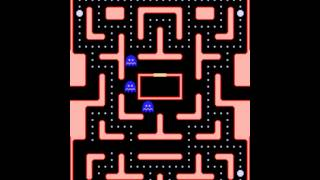 Ms. Pac-Man (1982) - Gameplay