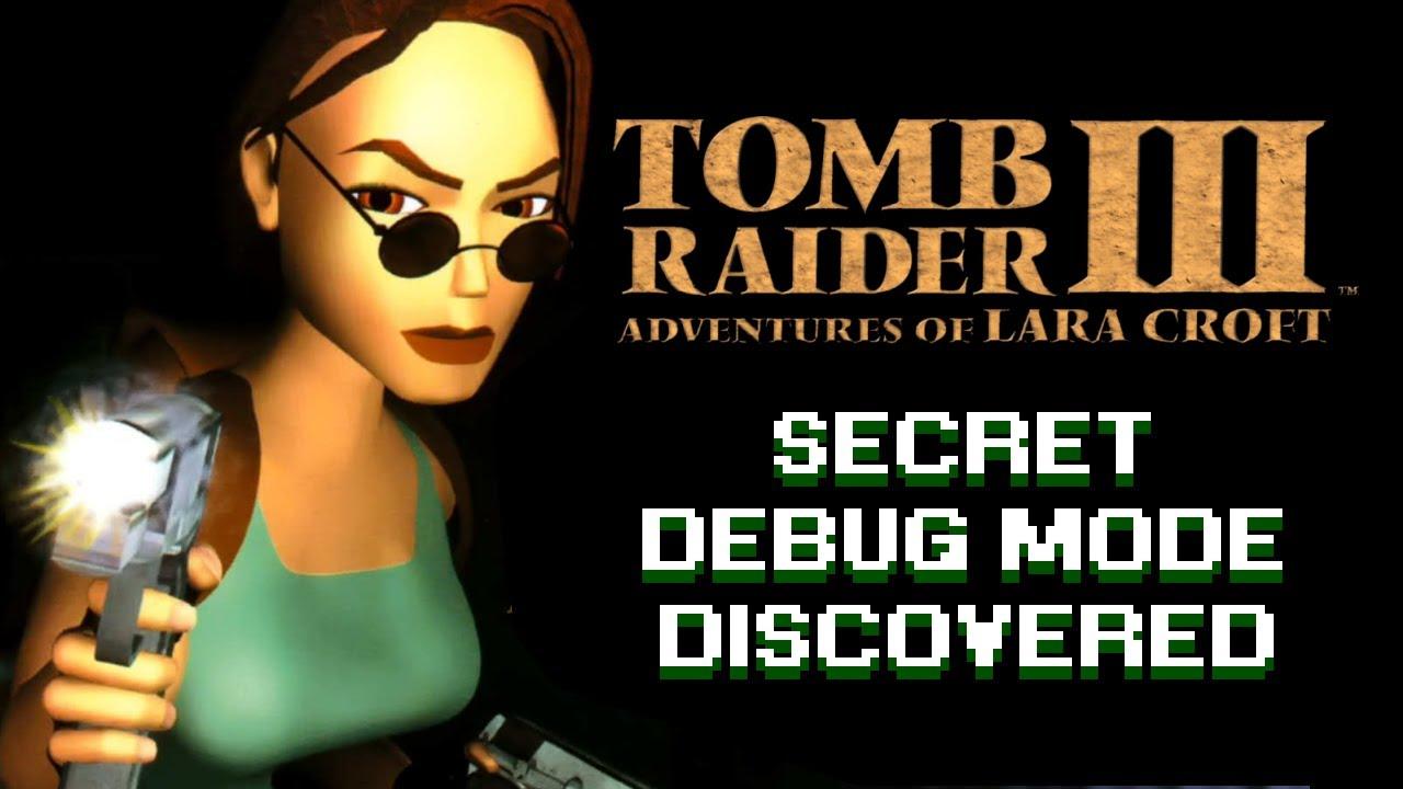 Tomb Raider 3 Lost Debug Code Found Youtube