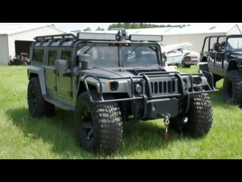 HUMMER H1 1997 with bedlaynerovym cover in case the zombie ...