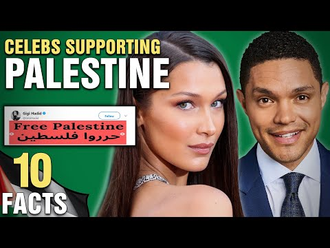 10 Celebrities Who Support Palestine