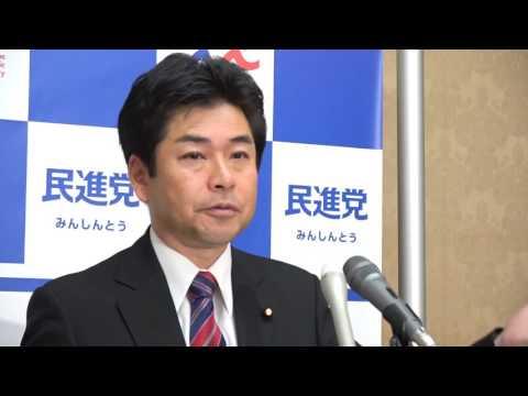 61014 山井国対委員長会見 2016年10月14日