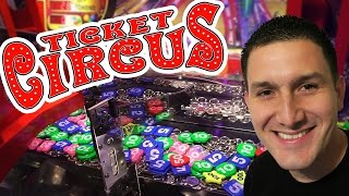 New! Ticket Circus - Coin Pusher