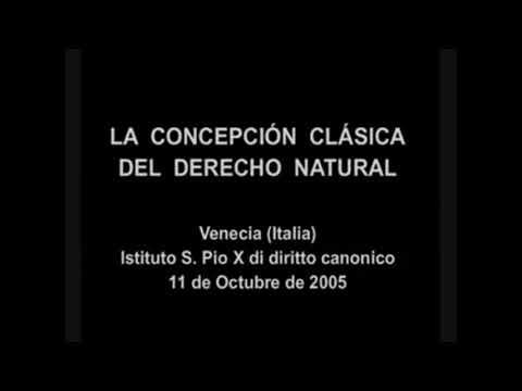 Derecho Natural - Prof. Javier Hervada Xiberta