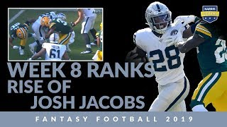 Week 8 Ranks: Josh Jacobs Is A Rising Superstar For Fantasy Football 2019