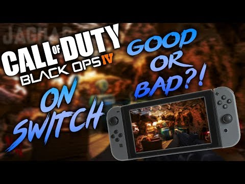 Call Of Duty: Black Ops IV on Switch Confirmed - My Thoughts!