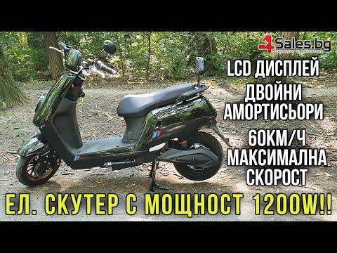 Универсален електрически скутер с мощност 1200W в различни цветове - MOTOR11 9