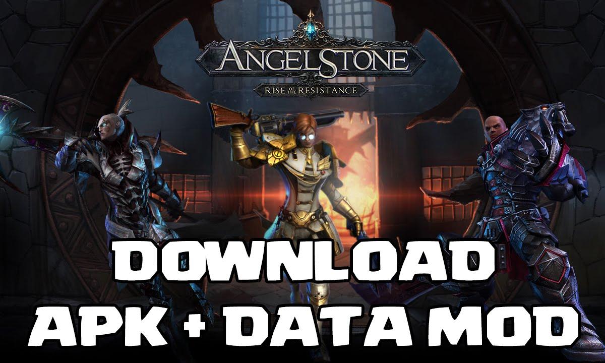 angel stone mod apk + data
