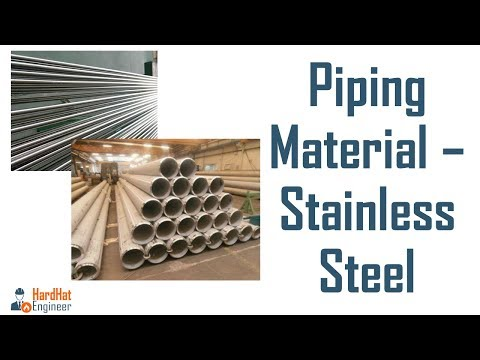 What is Stainless Steel and Different Types of SS - Piping Training Video-3